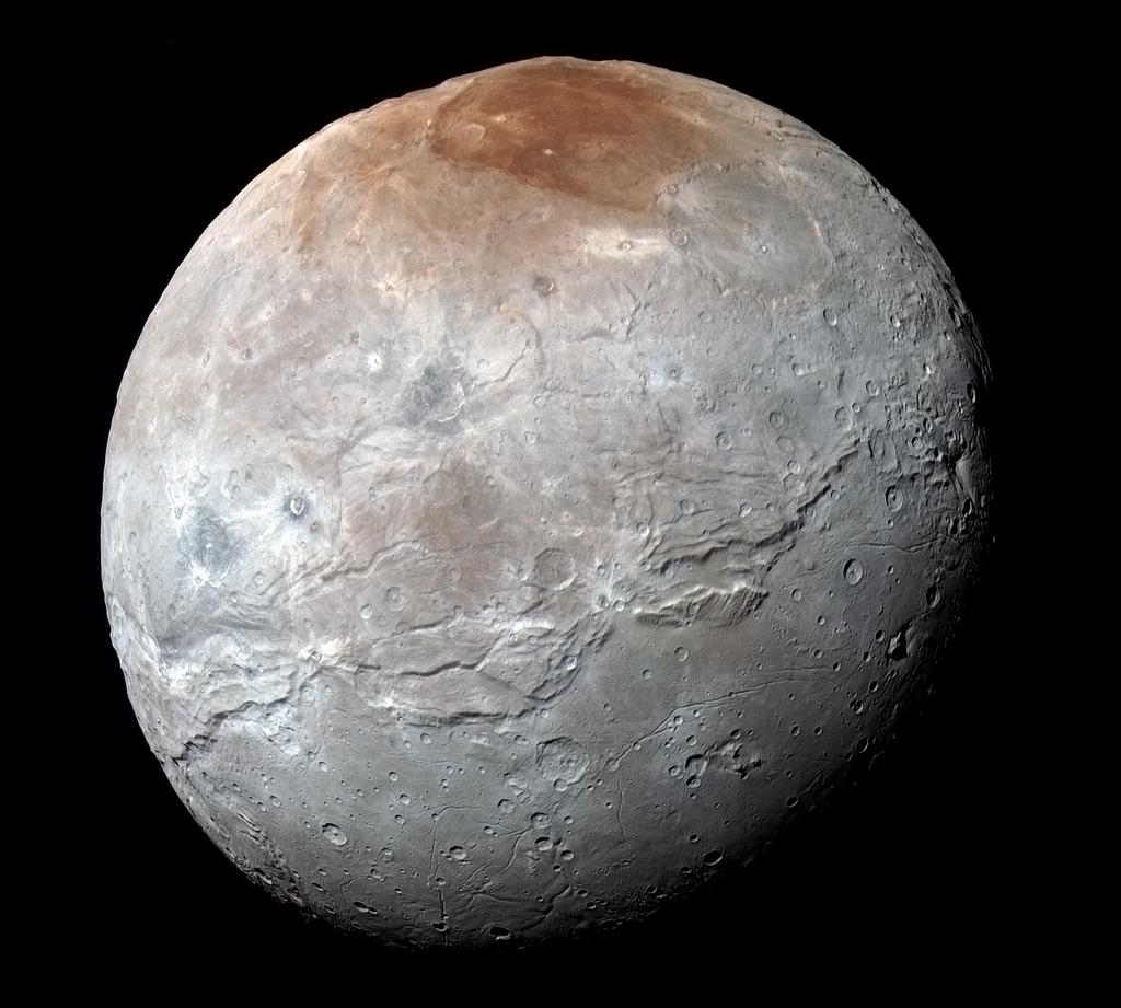 Caronte, satélite de Plutón