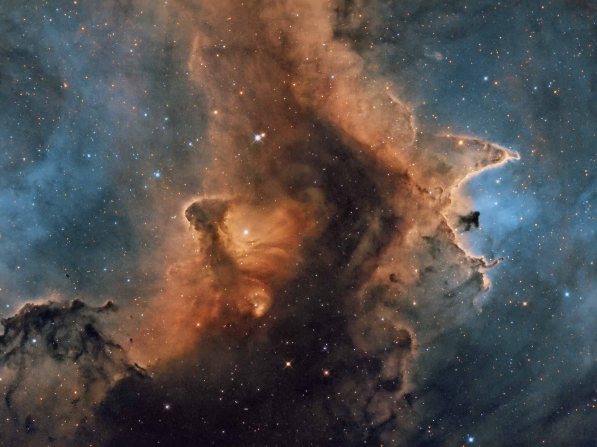 2015 October 29 - IC 1871: Inside the Soul Nebula