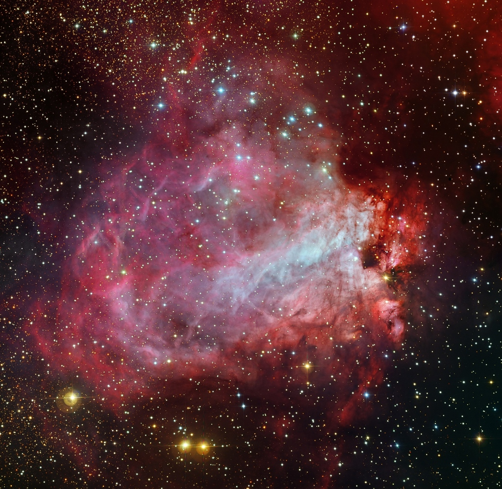 La fábrica de estrellas Messier 17