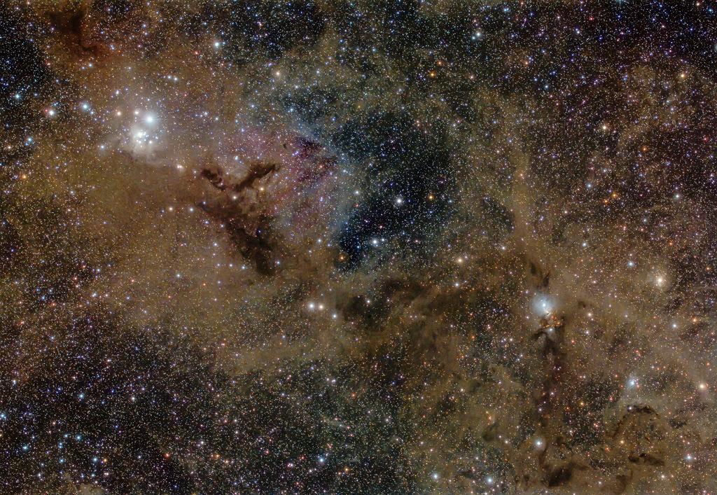 Polvo de estrellas en Perseo