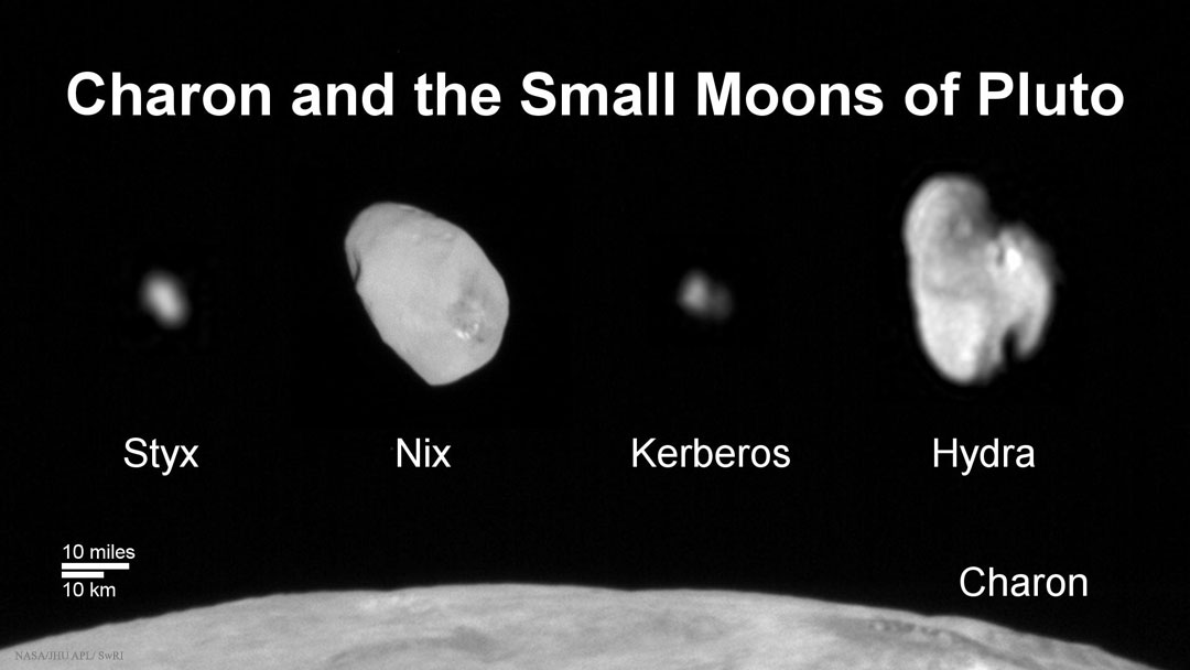 Styx Pluto S Moon: Charon And The Small Moons Of Pluto
