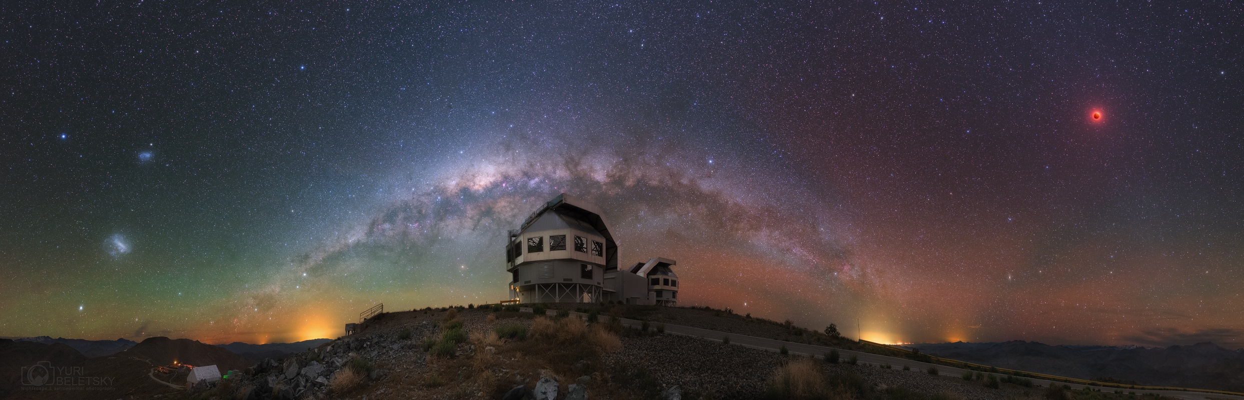 APOD: 2015 October 1 - Eclipsed in Southern Skies