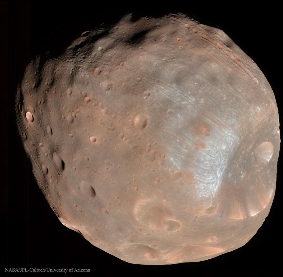Phobos: el satélite condenado de Marte