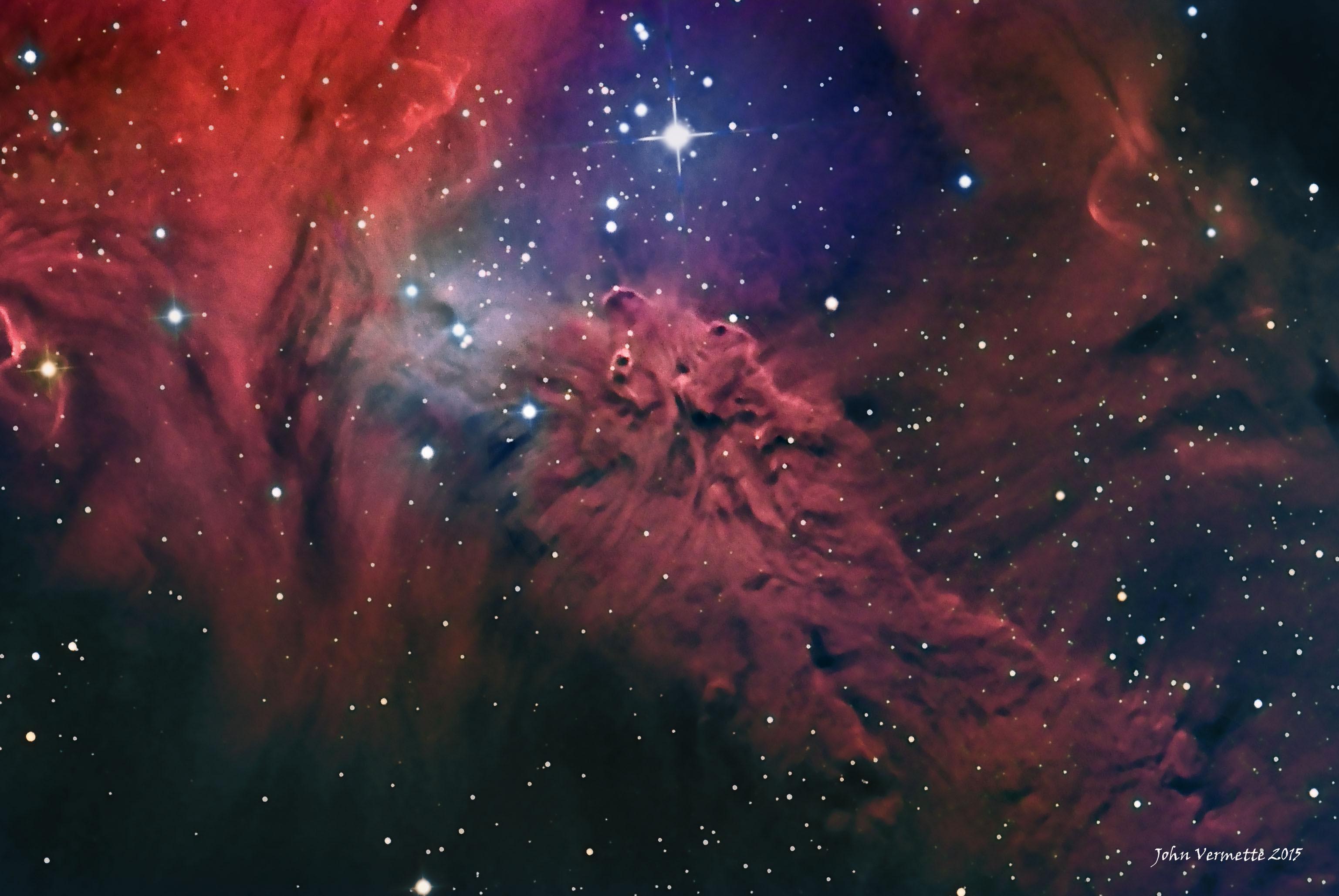 APOD: 2015 December 30 - The Fox Fur Nebula