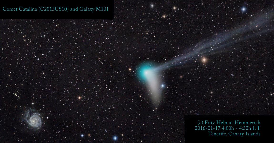 La vista hacia M101