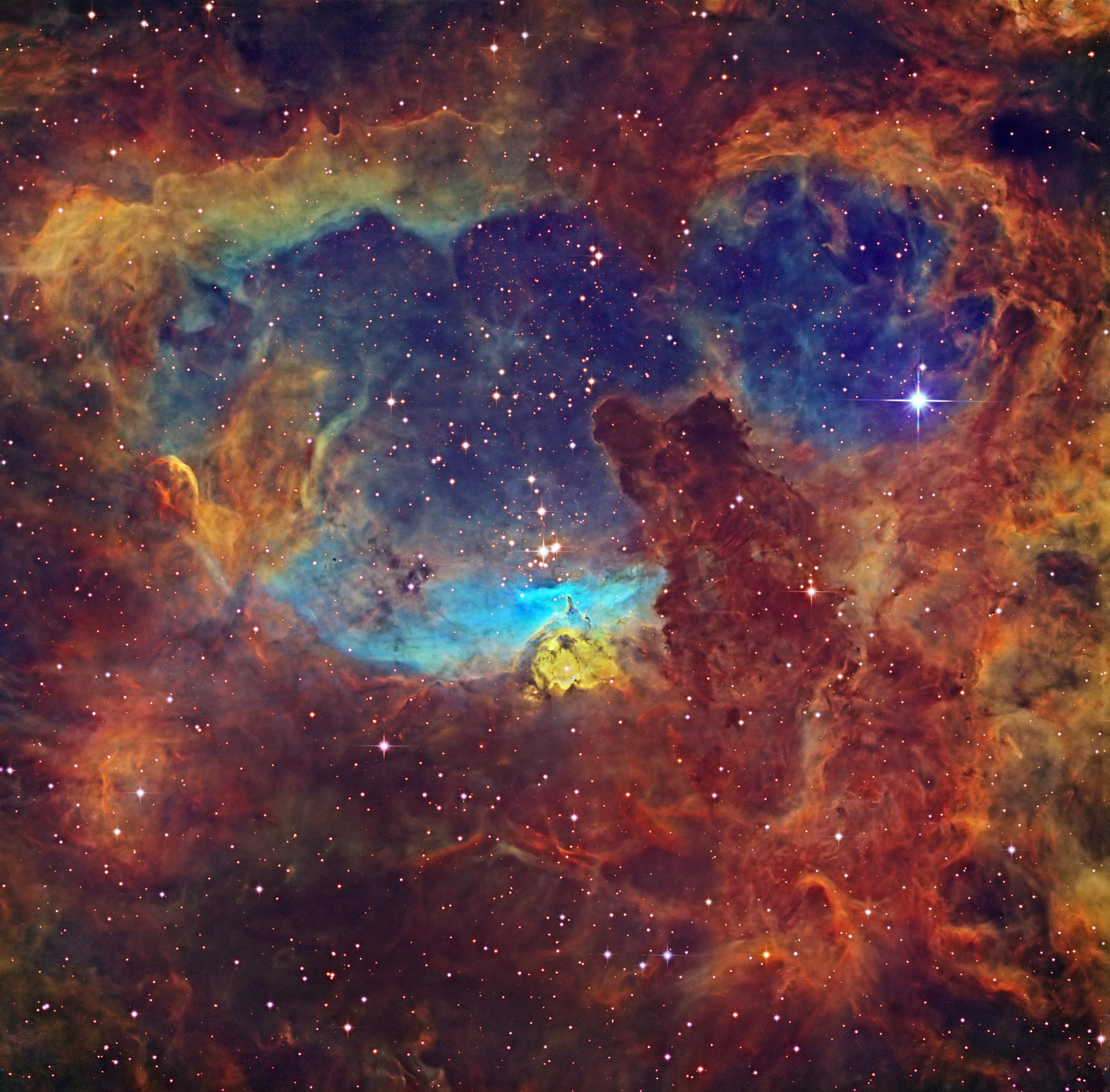 2016 February 5 - Massive Stars in NGC 6357