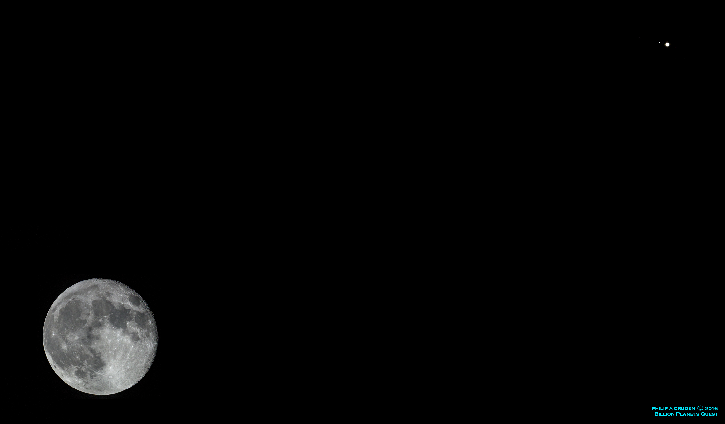 2016 March 3 - Moons and Jupiter
