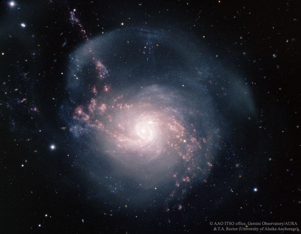 Apod 2016 March 1 Ngc 3310 A Starburst Spiral Galaxy