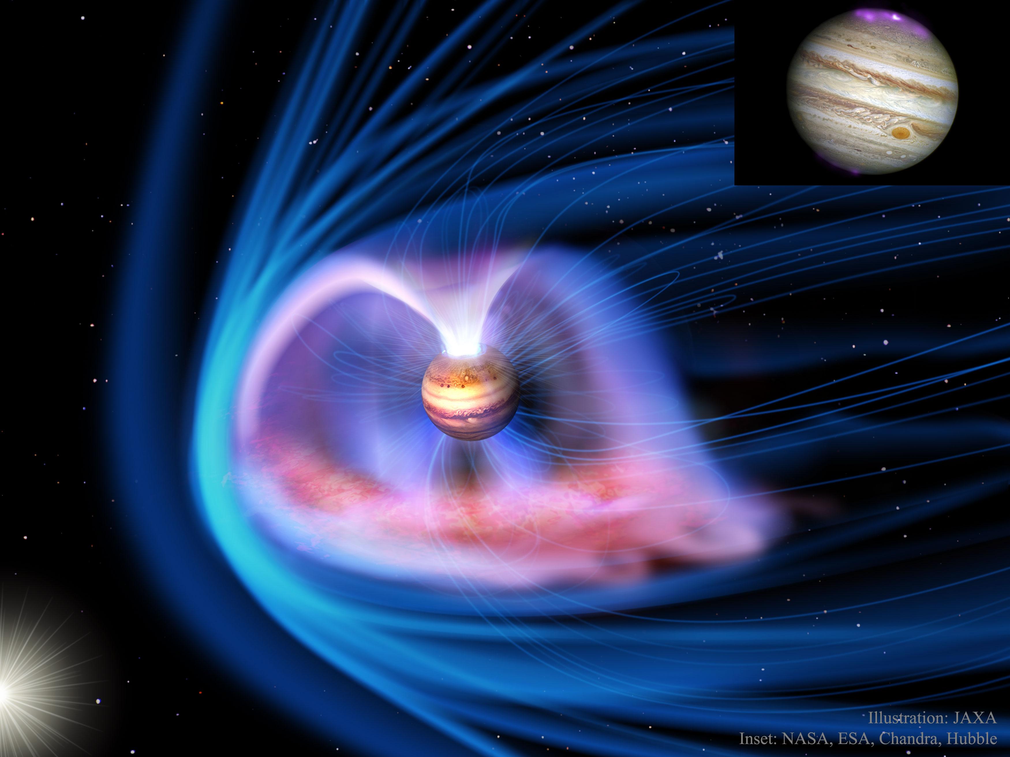 Nos falta comprender como la radiación solar afecta la atmósfera de Júpiter