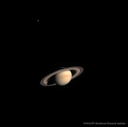 2016 April 10 - Cassini Approaches Saturn