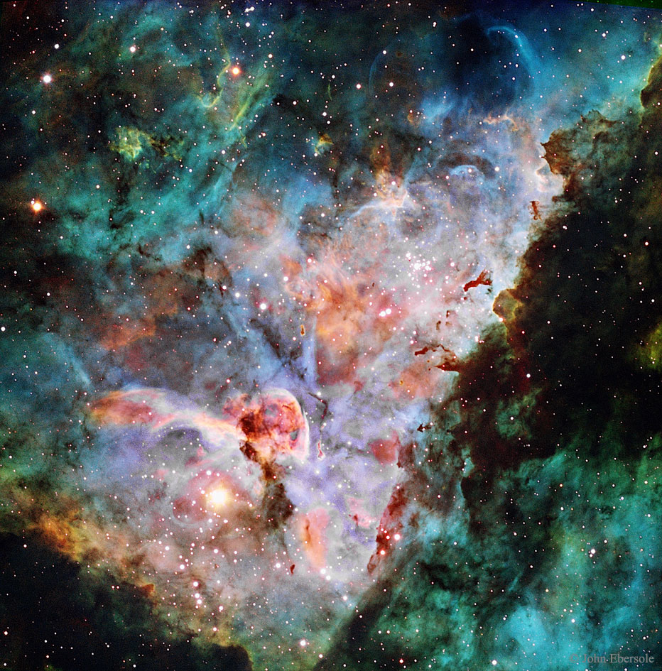 2016 May 16 - Clouds of the Carina Nebula