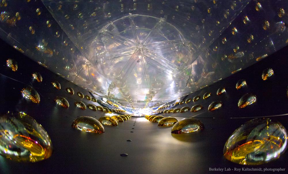 2016 May 23 - Inside a Daya Bay Antineutrino Detector