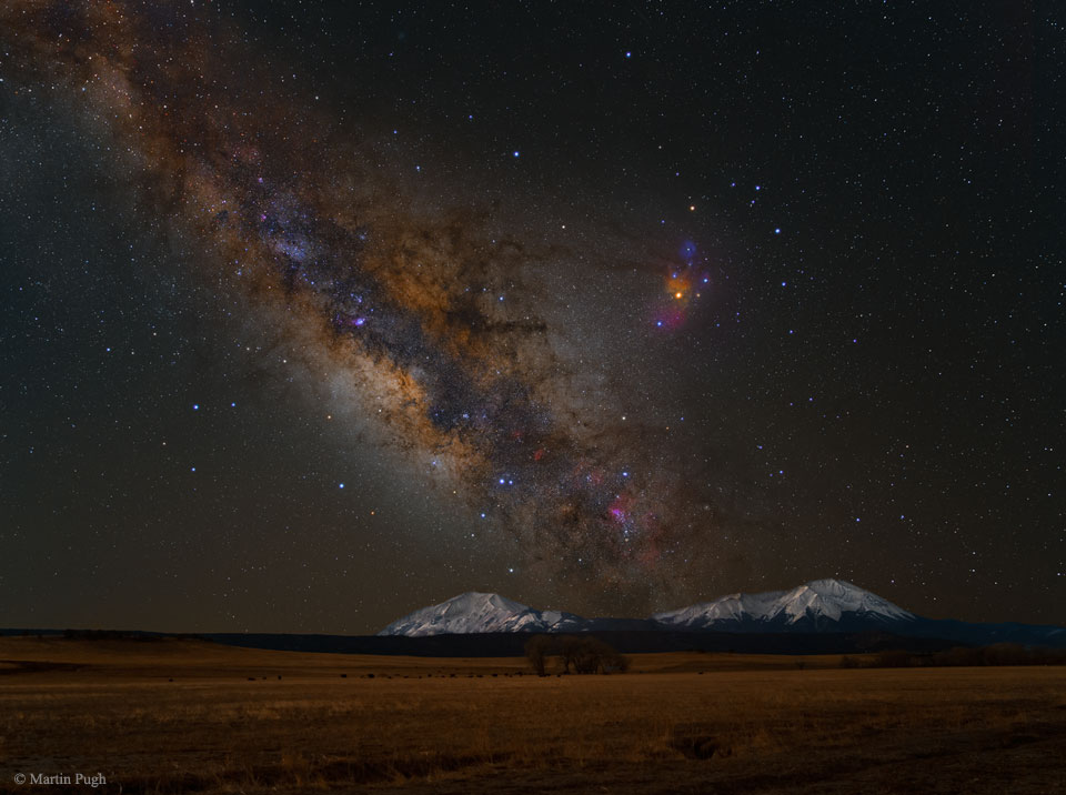 La Vía Láctea sobre los picos españoles