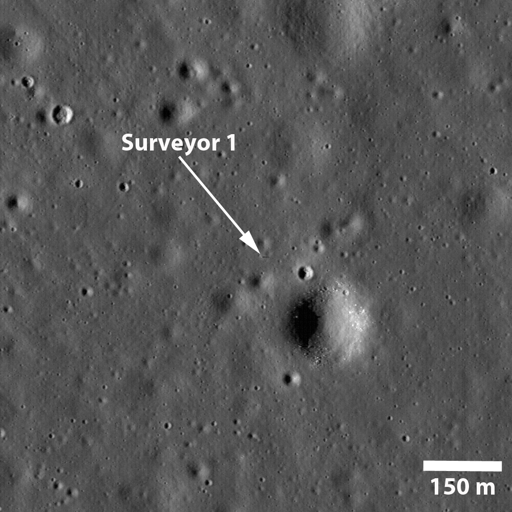 2016 June 4 - The Shadow of Surveyor 1