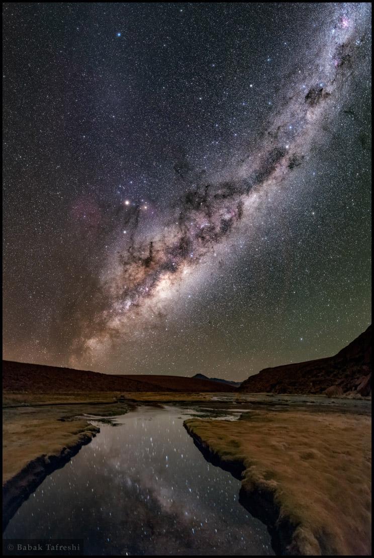 Noche en el altiplano
