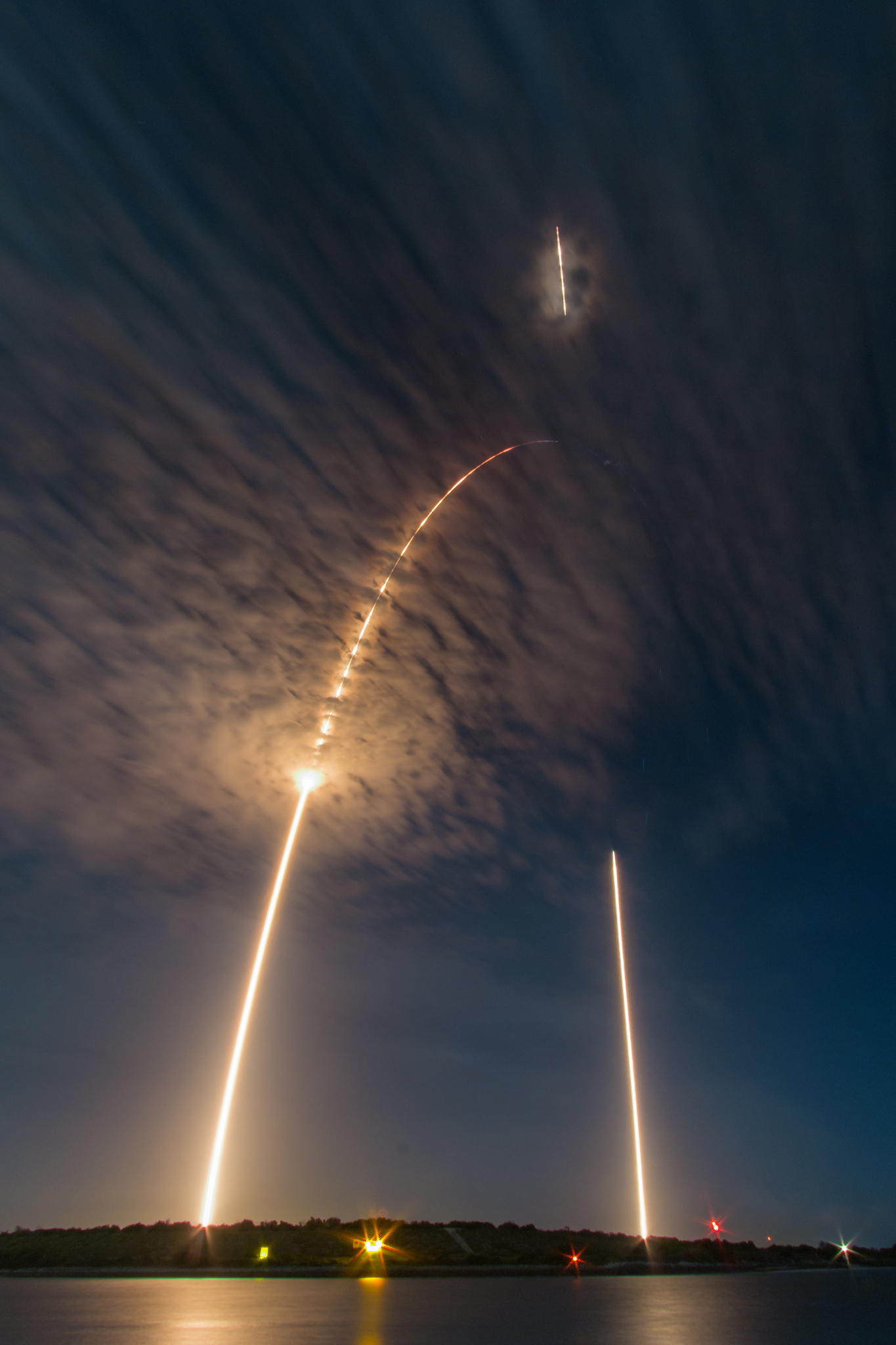 APOD: 2016 July 21 - Falcon 9: Launch and Landing