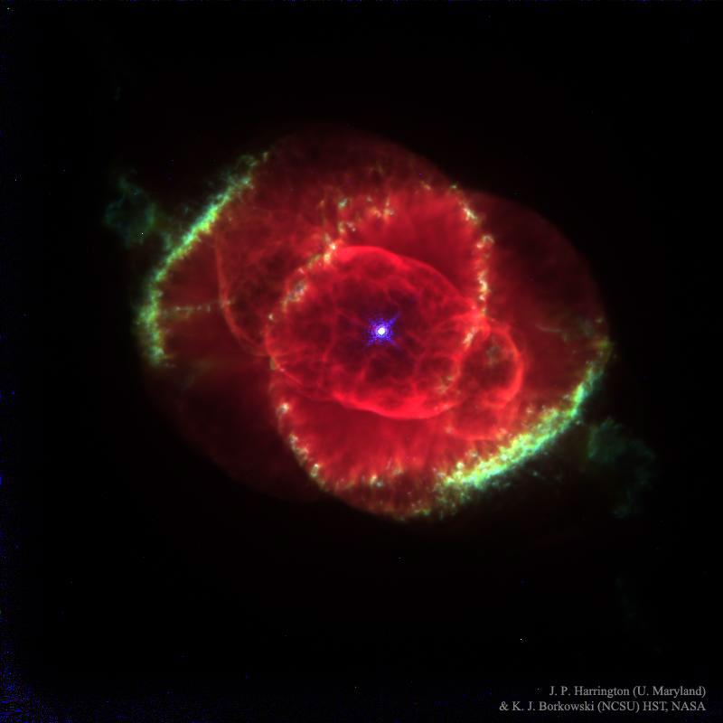 2016 July 3 - The Cat's Eye Nebula