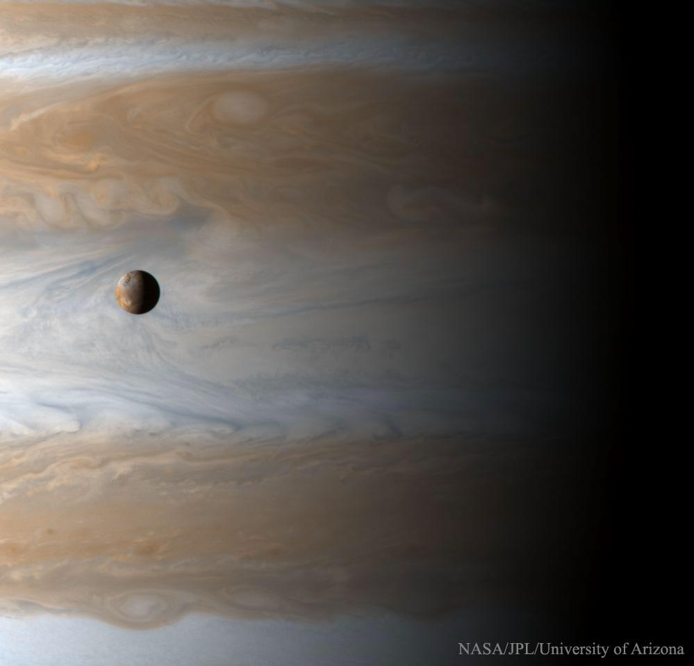 2016 August 7 - Io: Moon over Jupiter