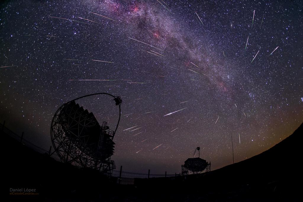 Rayos gamma y polvo de cometa