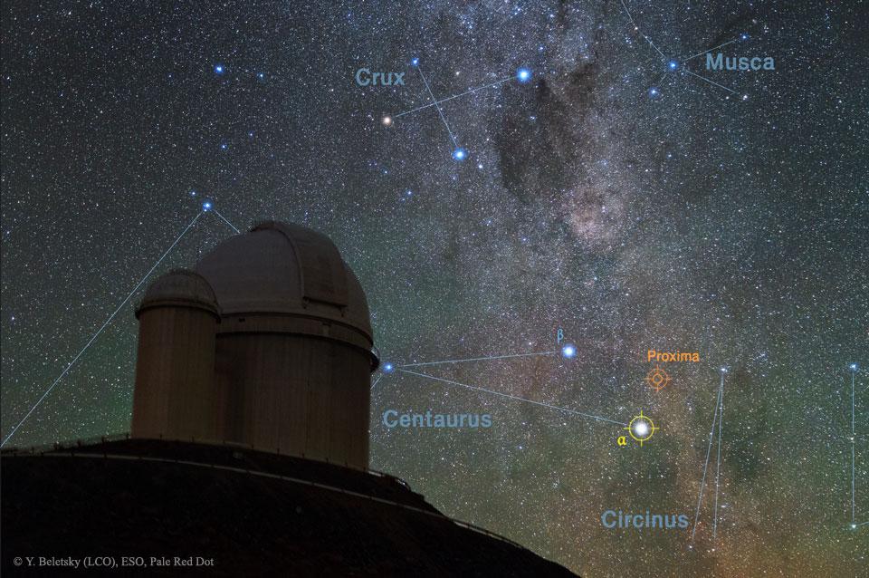 La estrella más cercana tiene un planeta potencialmente habitable