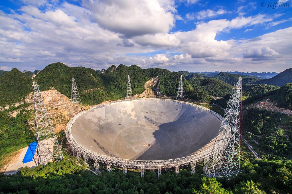 Telescopio esférico de quinientos metros de diámetro