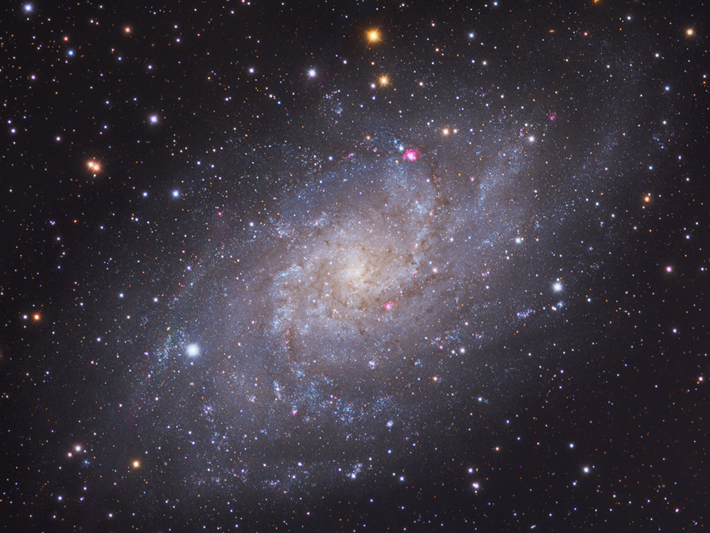 M33: Galaxie v Trojúhelníku