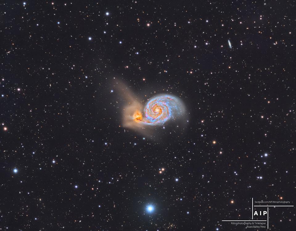 La galaxia del Remolino y más allá