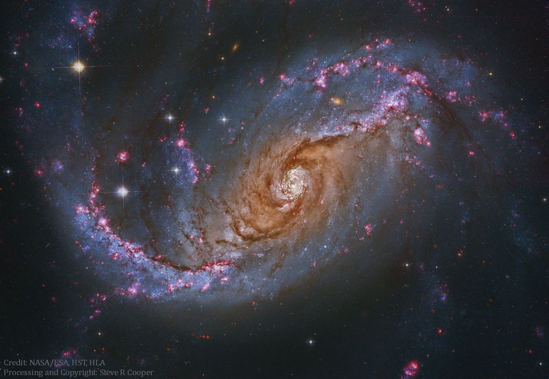021 - SEPTEMBAR - 2016. NGC1672_HubbleCooper_1080