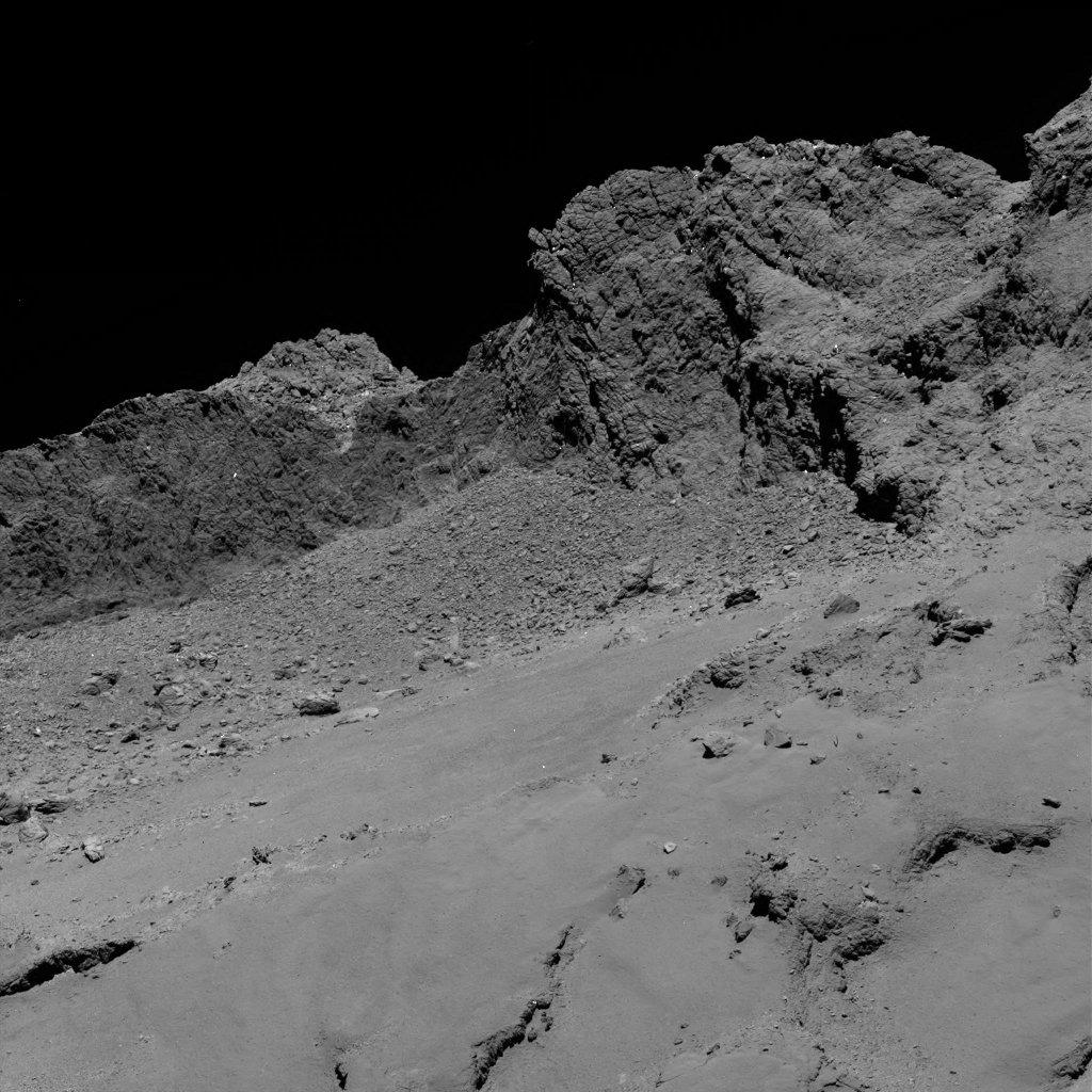Rosetta s Farewell