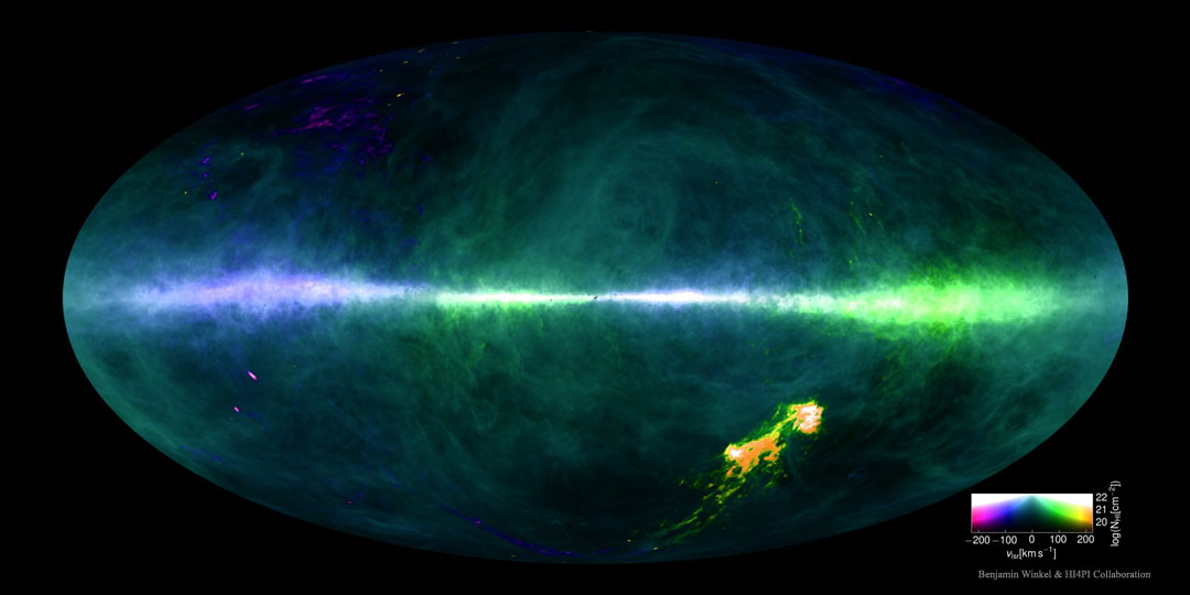 HI4PI: el cielo de hidrógeno
