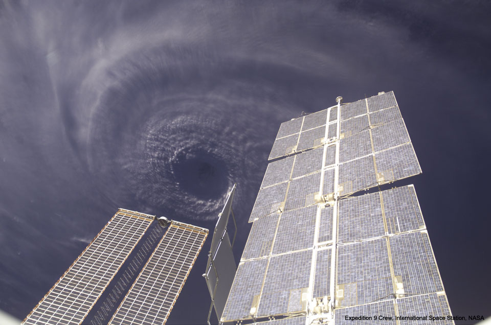 Hurricane Ivan from the Space Station