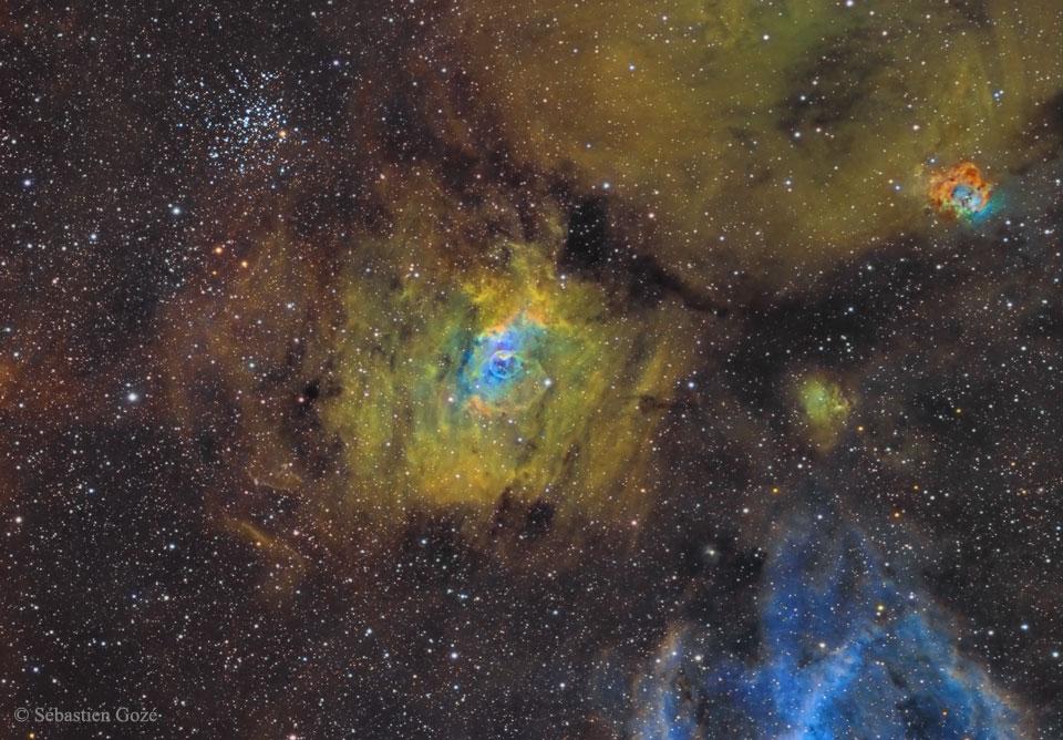 NGC 7635: Burbuja en un mar cósmico