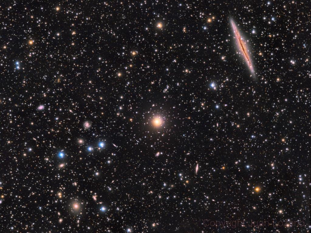 NGC 891 vs 347 Abell