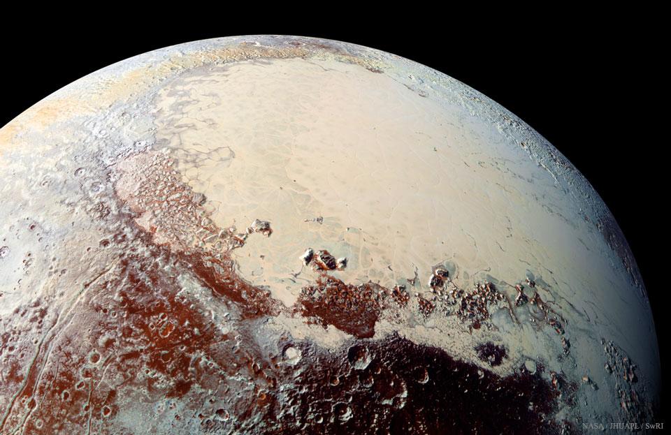 Sputnik Planum de Plutón