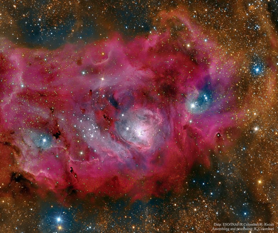 La Nebulosa de la Laguna en alta definición