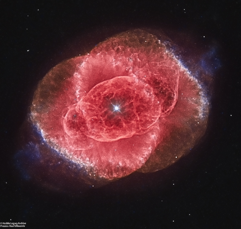 2017 January 30 - The Cat's Eye Nebula from Hubble