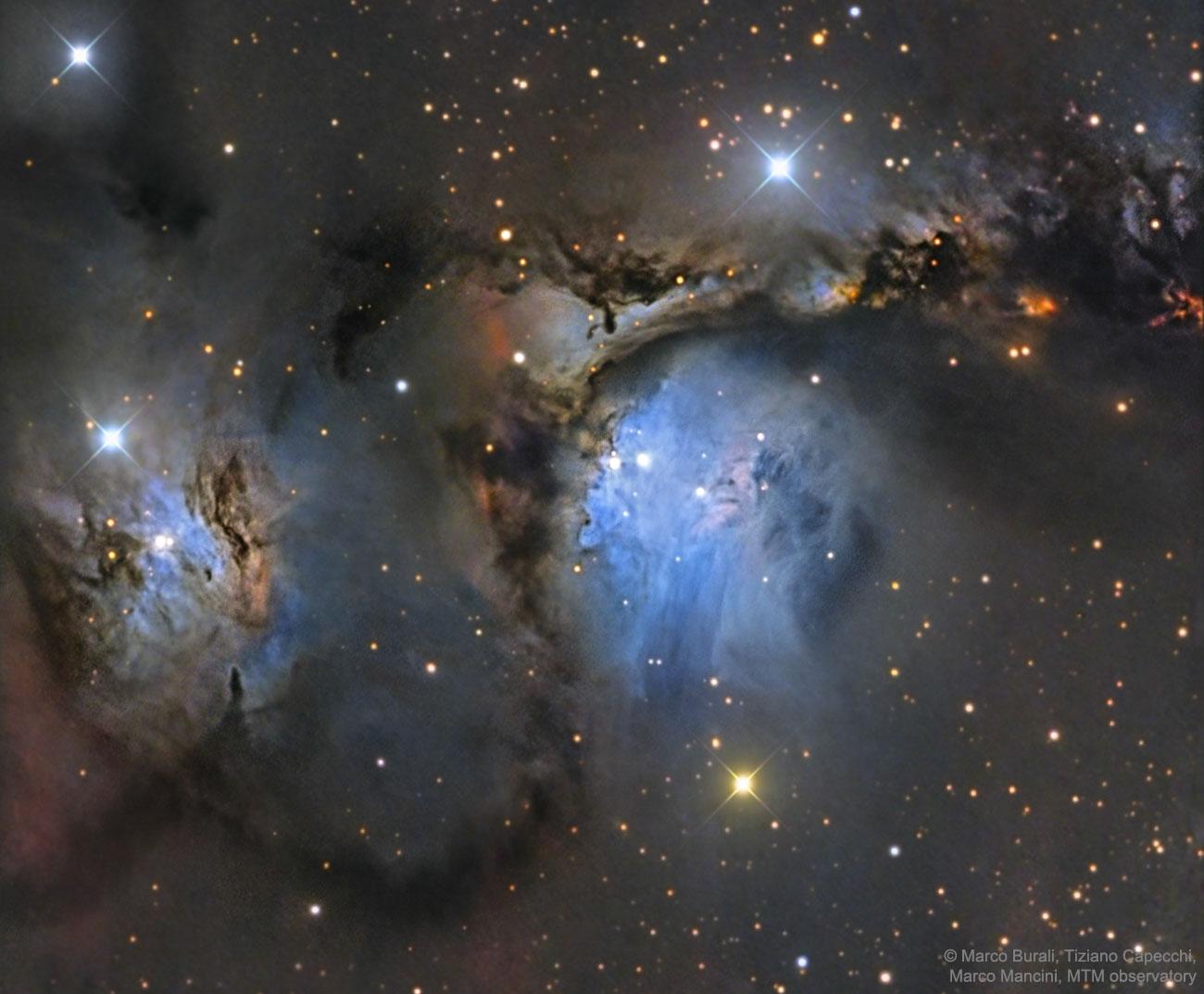 Resultado de imagen de Inmensas Nebulosas moleculares