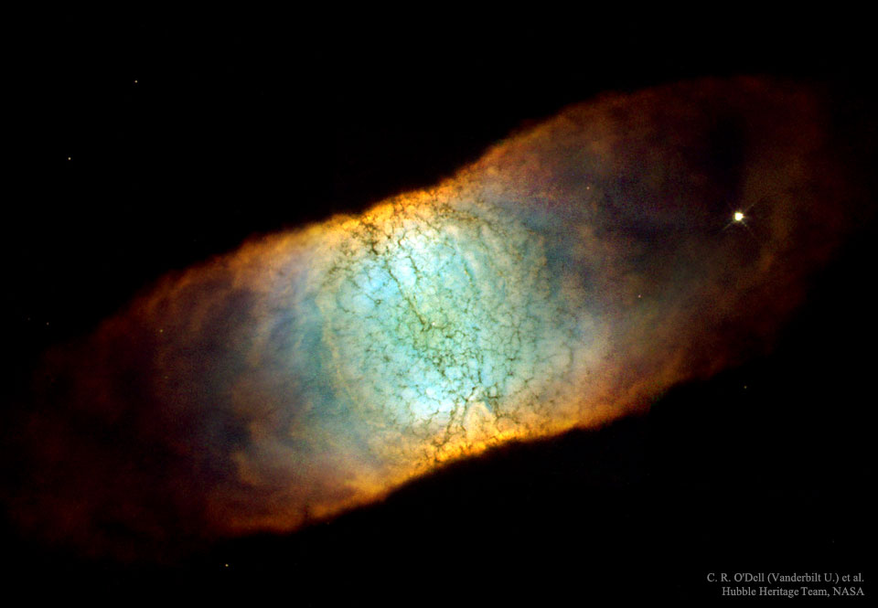 IC 4406: Una nebulosa aparentemente cuadrada