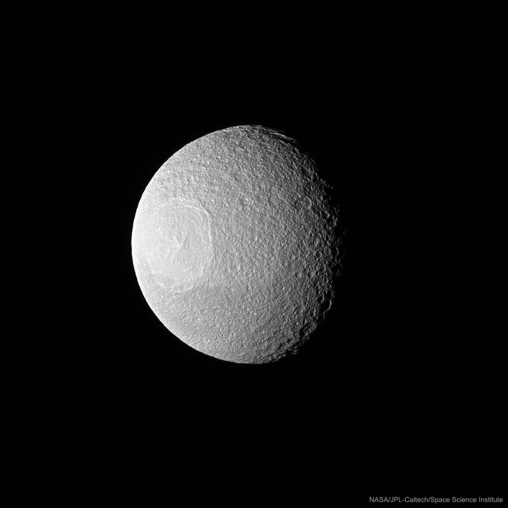 2017 February 5 - Odysseus Crater on Tethys