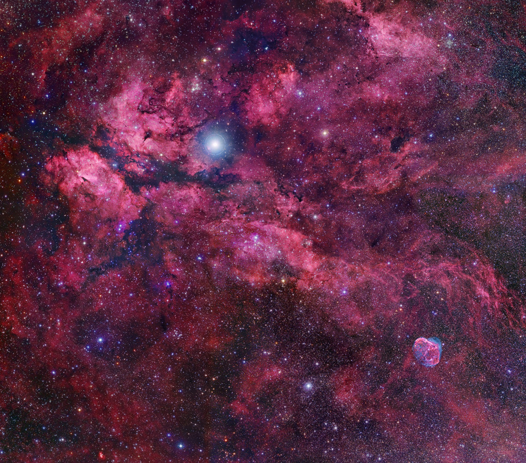 Central Cygnus Skyscape