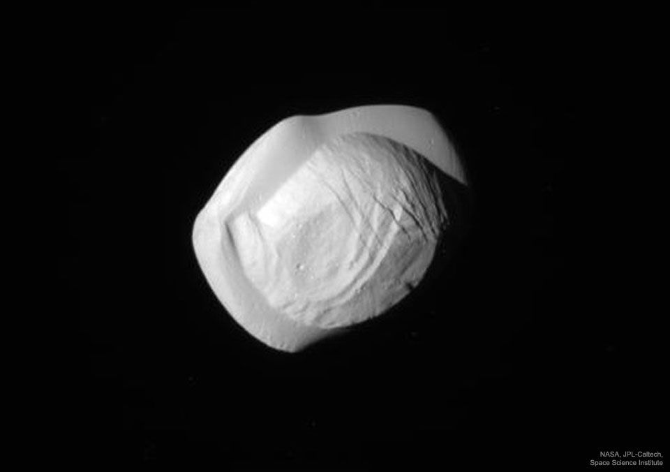 Pan from Cassini