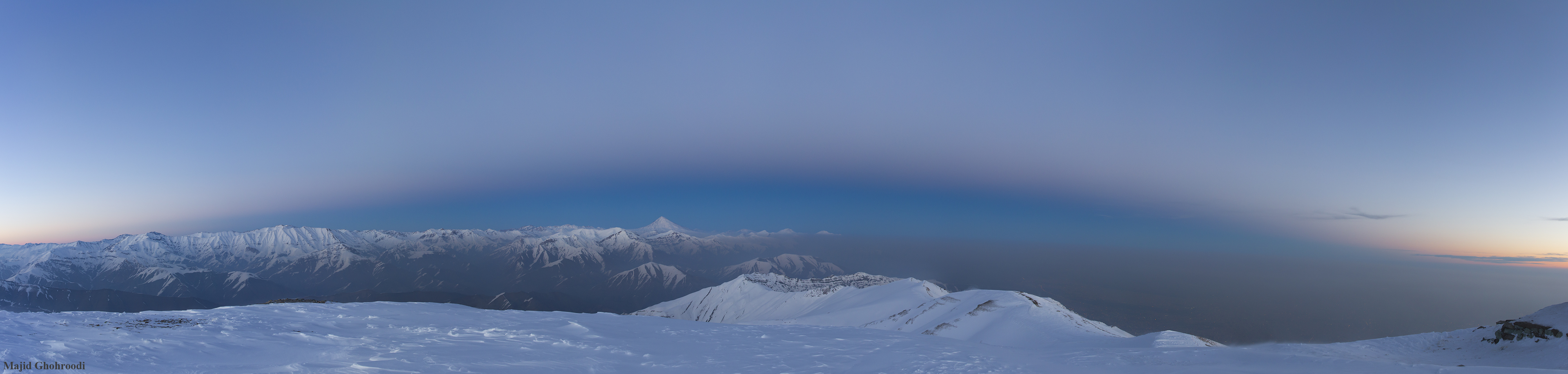 [ASTRONOMIA]   Earth Shadow over Damavand