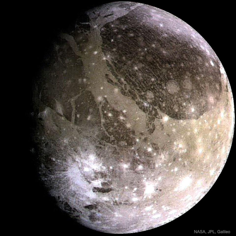 Ganímedes: La luna más grande