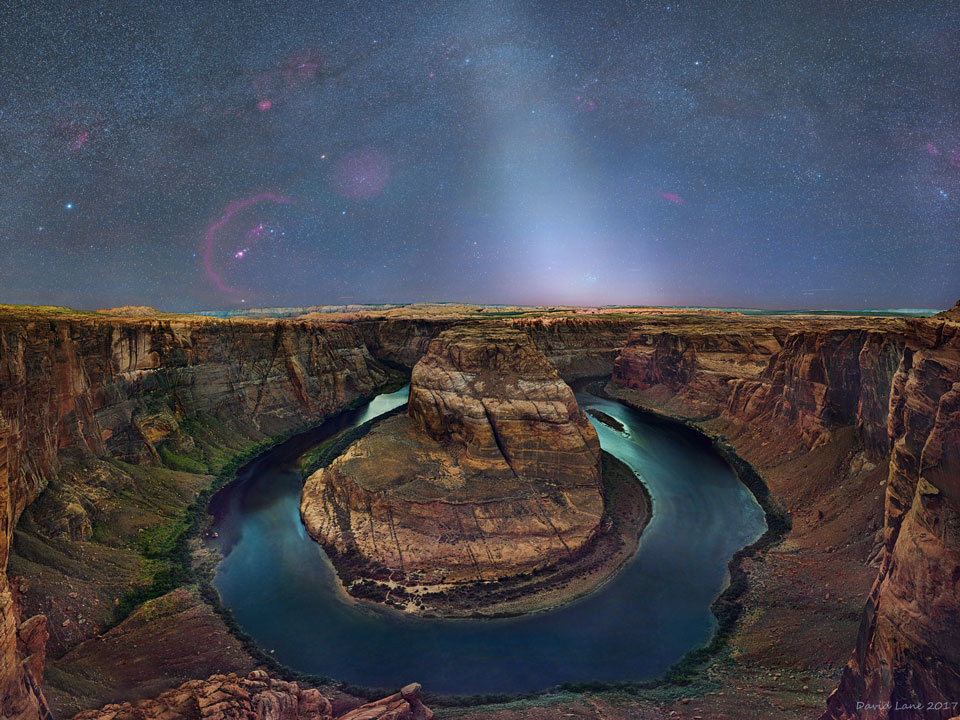 A Zodiacal Sky over Horseshoe Bend