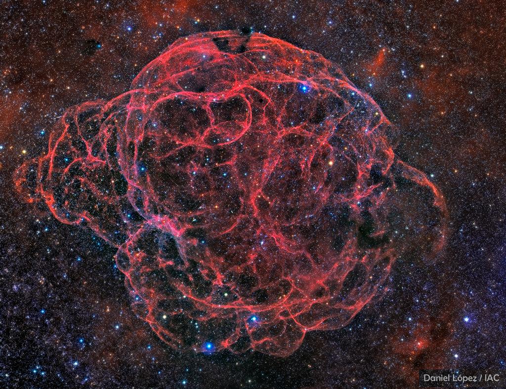 Simeis 147: Remanente de Supernova