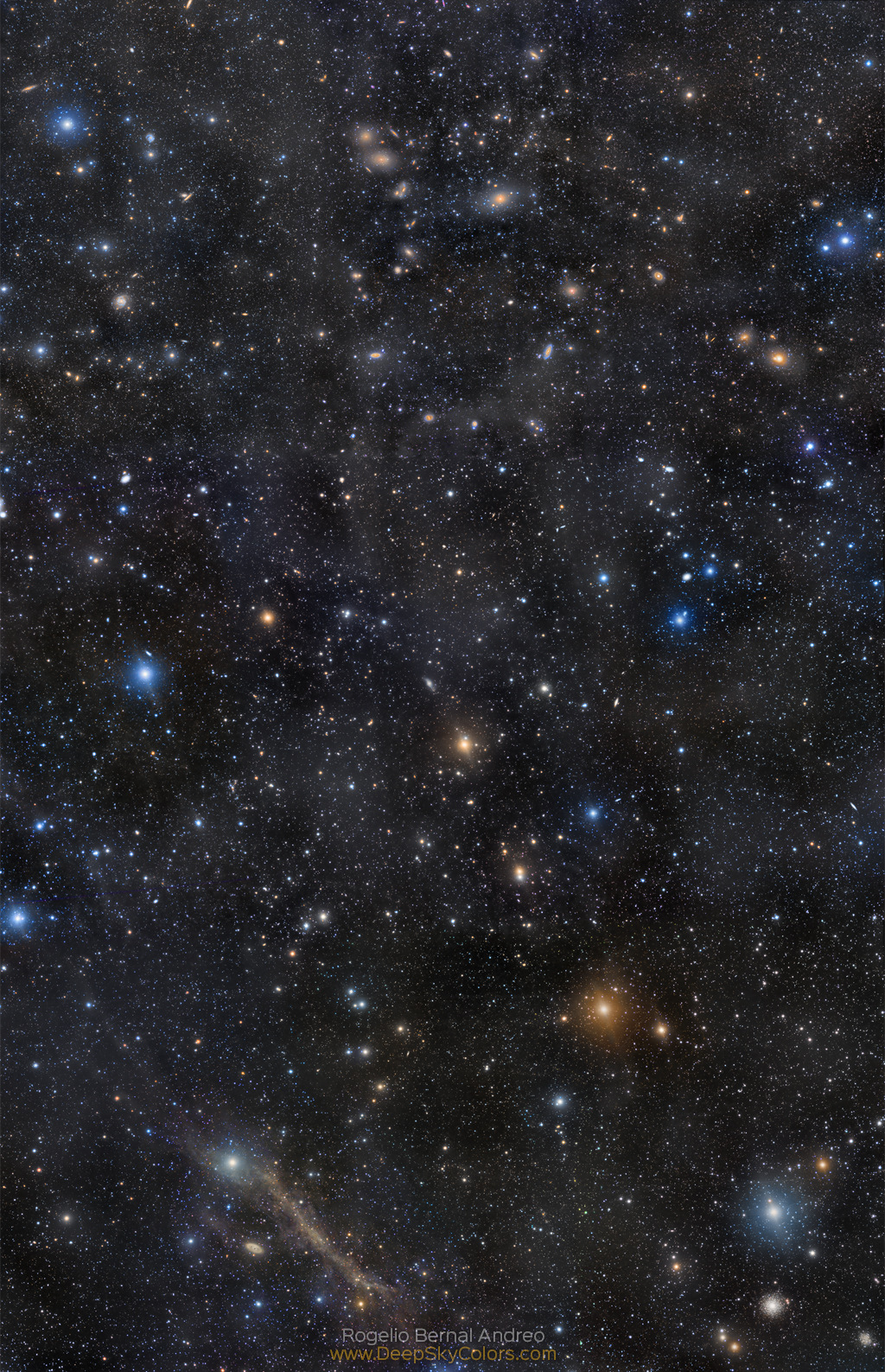 Markarian s Chain to Messier 64