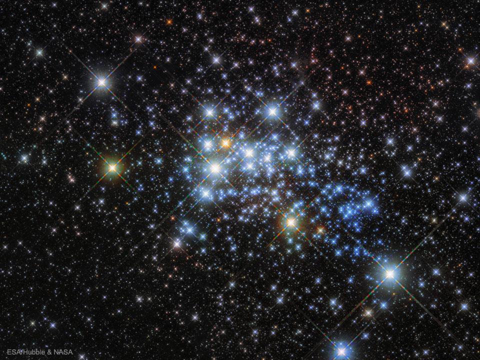 Estrellas masivas en Westerlund 1