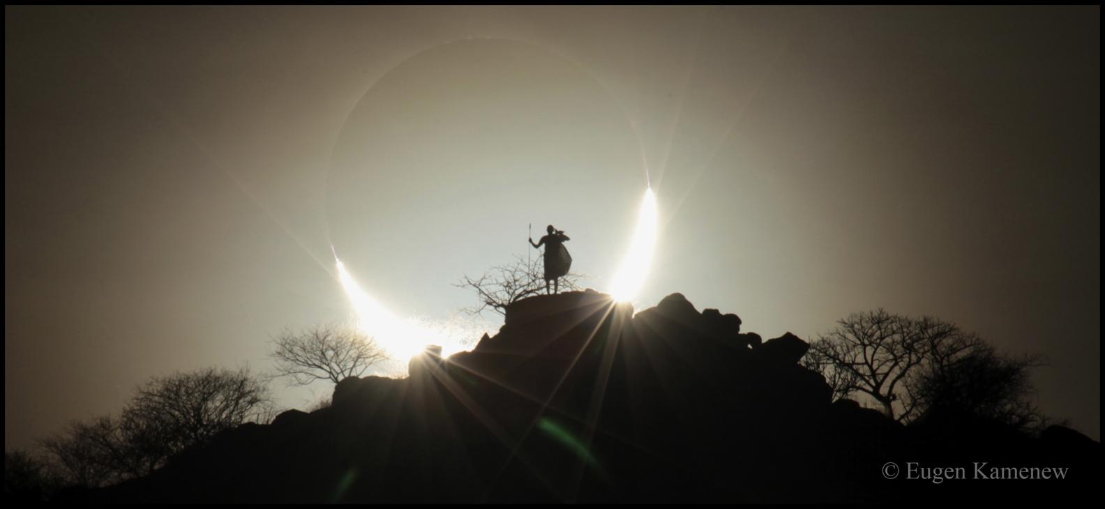 Kenya solar eclipse version 2