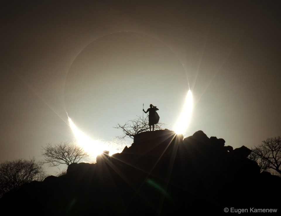 A Hybrid Solar Eclipse over Kenya