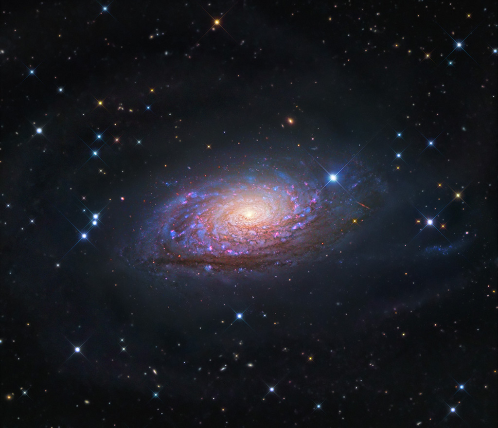 Messier 63: la galaxia del girasol